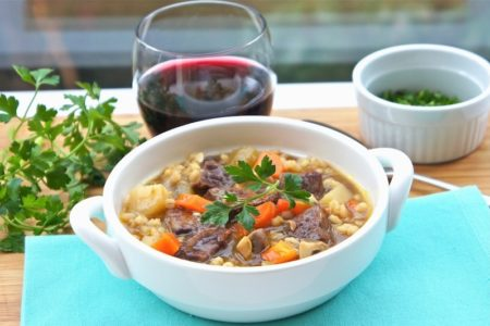 Рецепт супа из говядины и ячменя