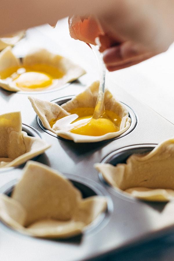 Яичница в духовке фото рецепт