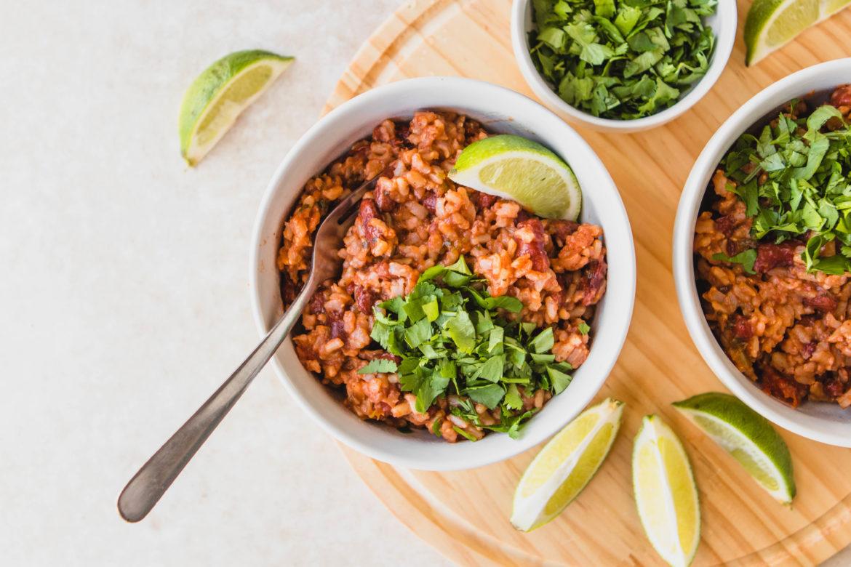 Рис с фасолью рецепт с фото
