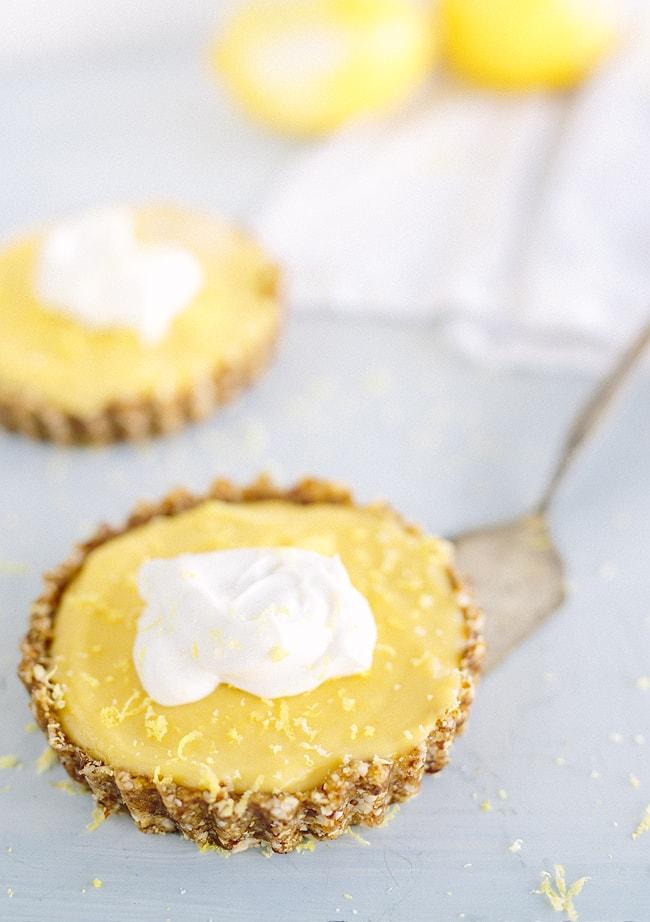 Фото тарталетки с лимонным кремом