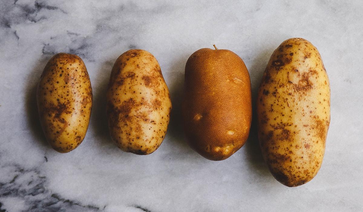 Картофель по-деревенски первый шаг