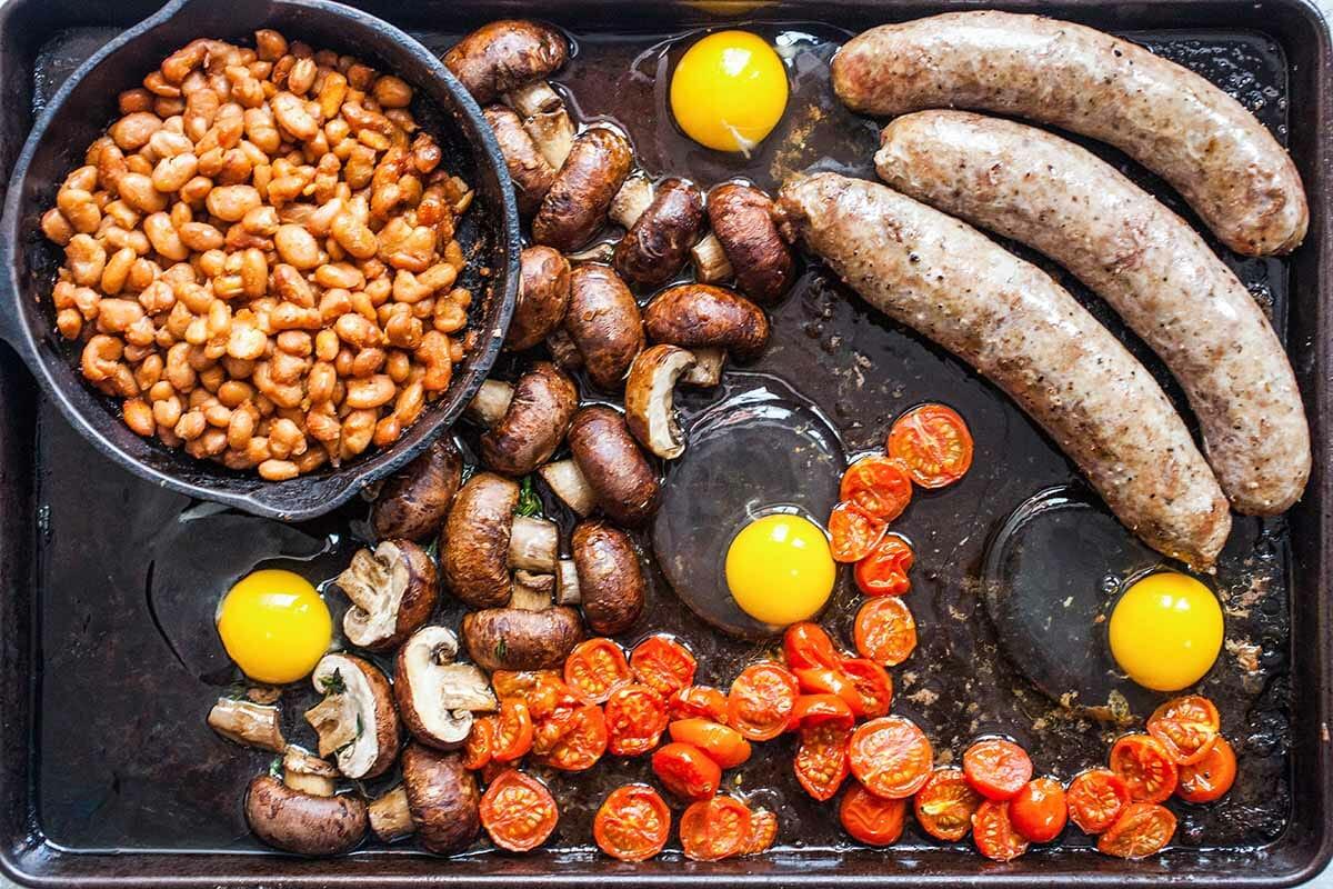 Что входит в английский завтрак