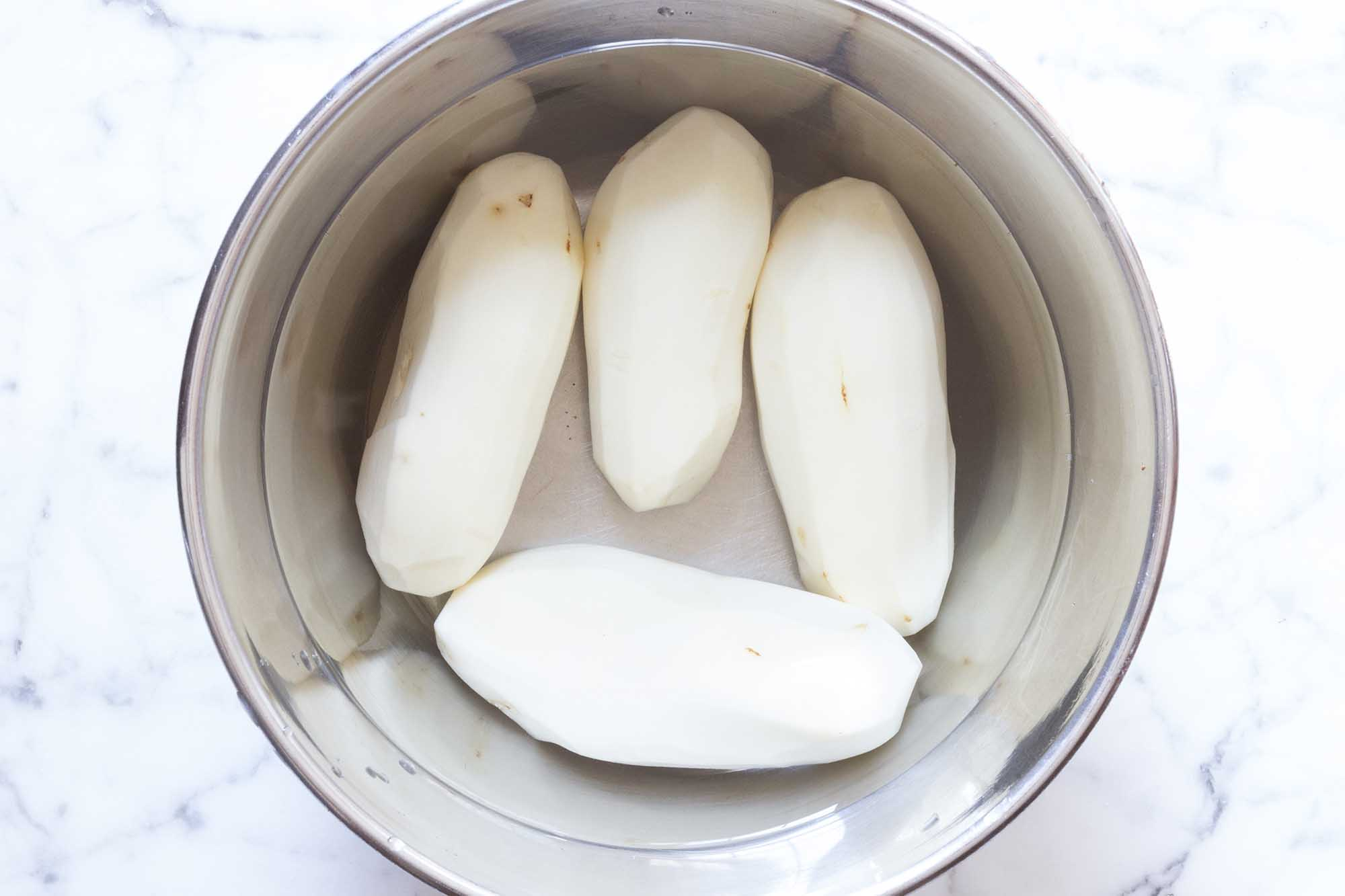 Картофель для латкес