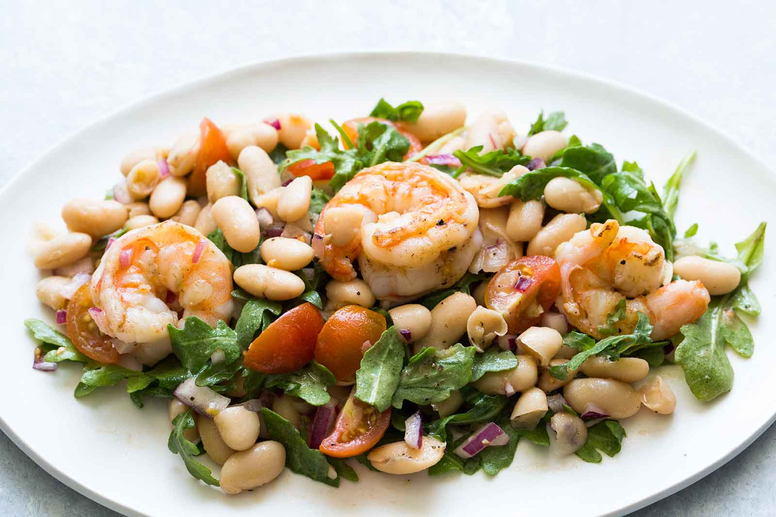 Салат с креветками фото рецепта