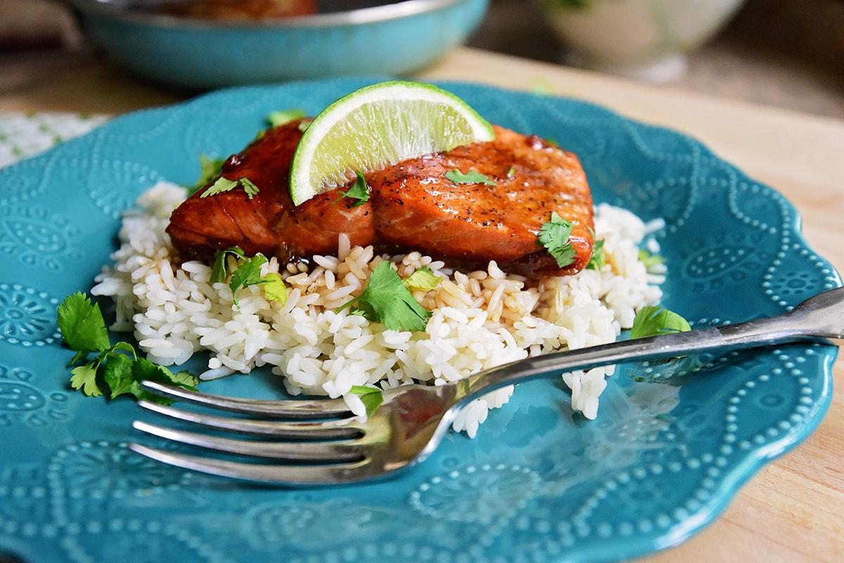 Рецепт лосося с соевым соусом фото