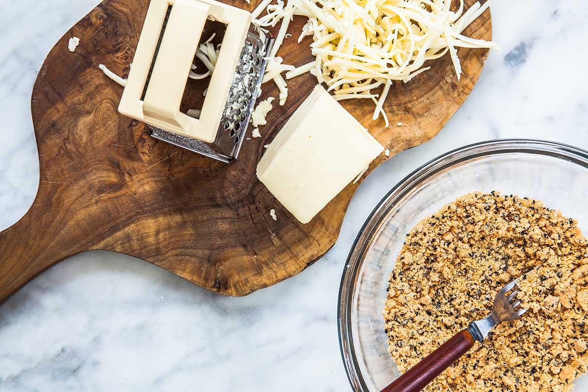 Ингредиенты для сырных чипсов