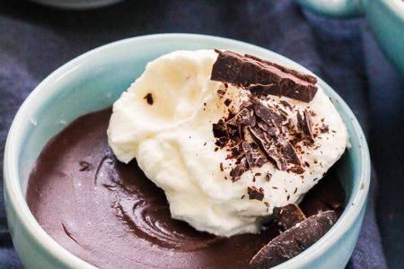 Шоколадный пудинг фото
