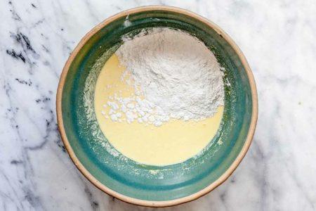 Тесто для лимонных панкейков