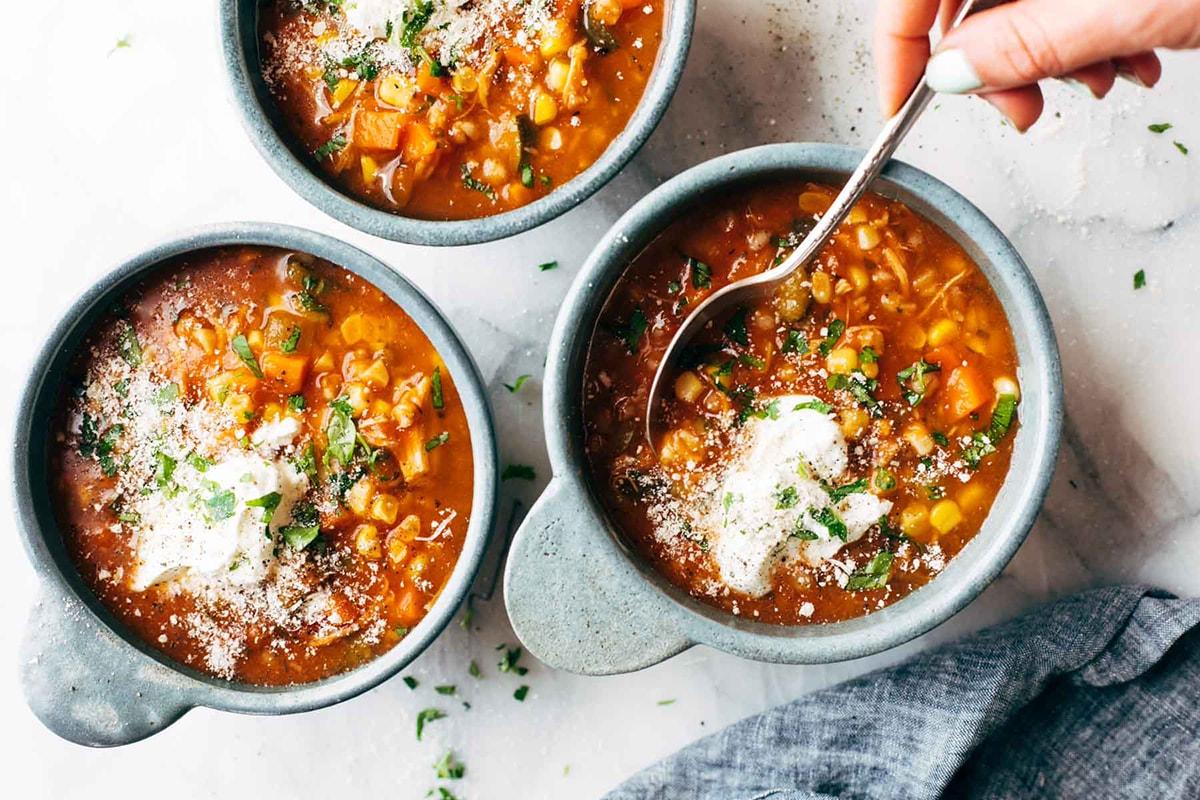 рецепт супа с рисом и мясом в скороварке