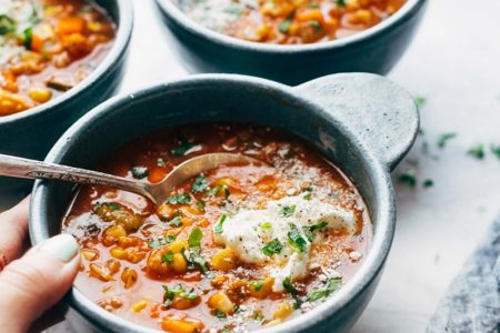 Как сварить куриный суп с рисом