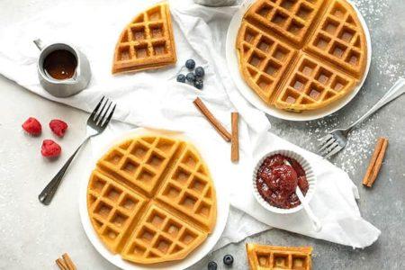 Бельгийские вафли рецепт фотография