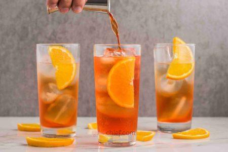 Рецепт Апероль Шприц с просекко и апельсином - фото