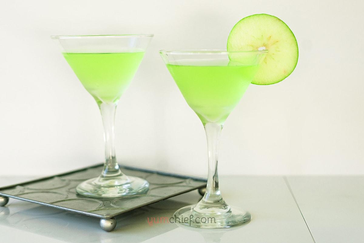 Рецепт мартини с яблочным соком - фото