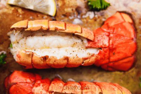 Хвосты омара - рецепт с фото
