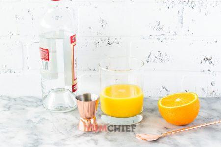 Ингредиенты для коктейля Отвертка - фото