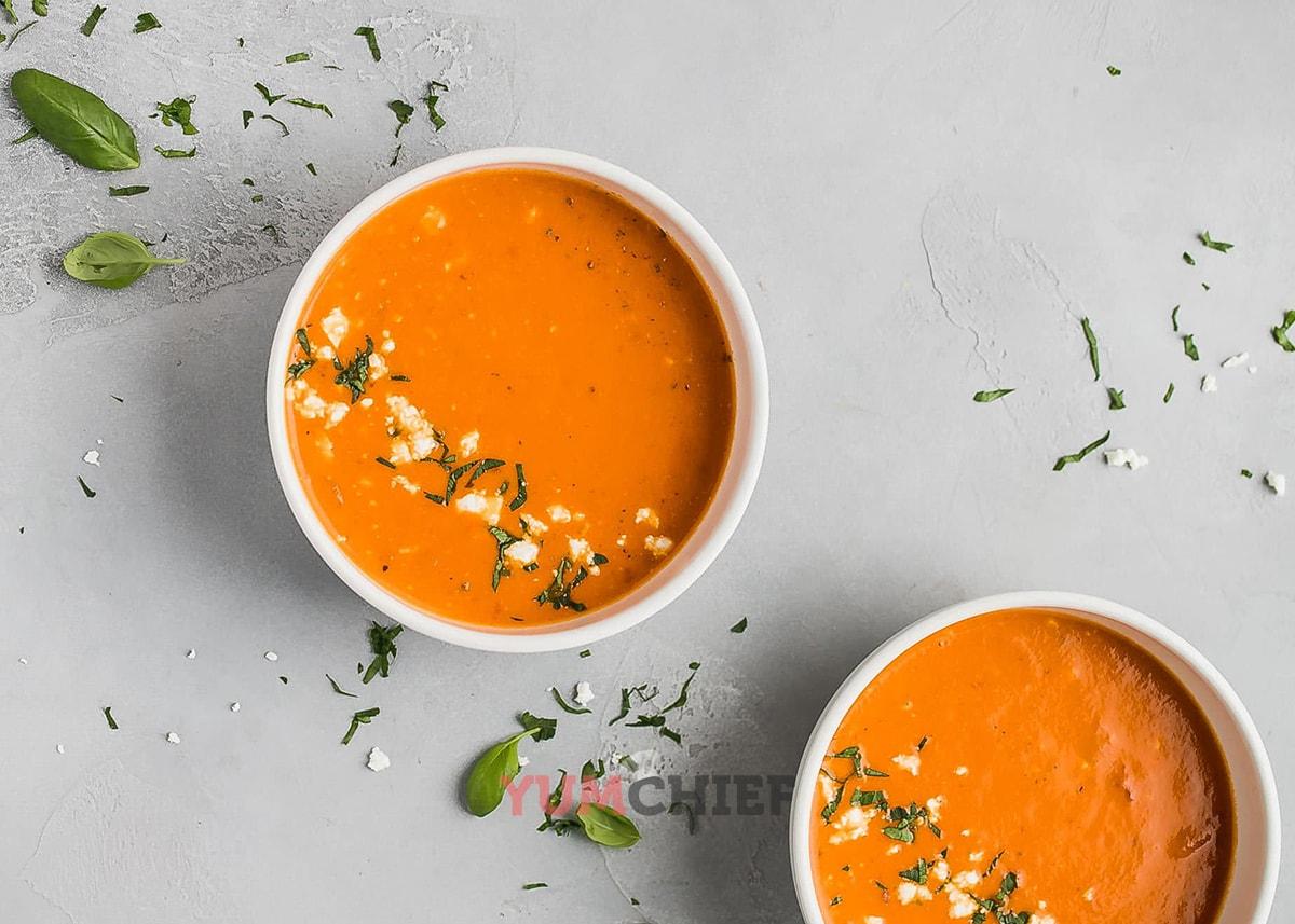 Суп томатный пошаговый рецепт — 6