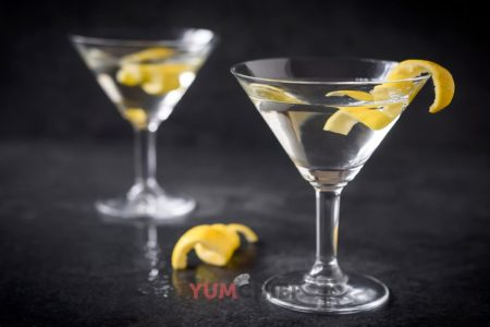 Фотография коктейля из мартини и водки