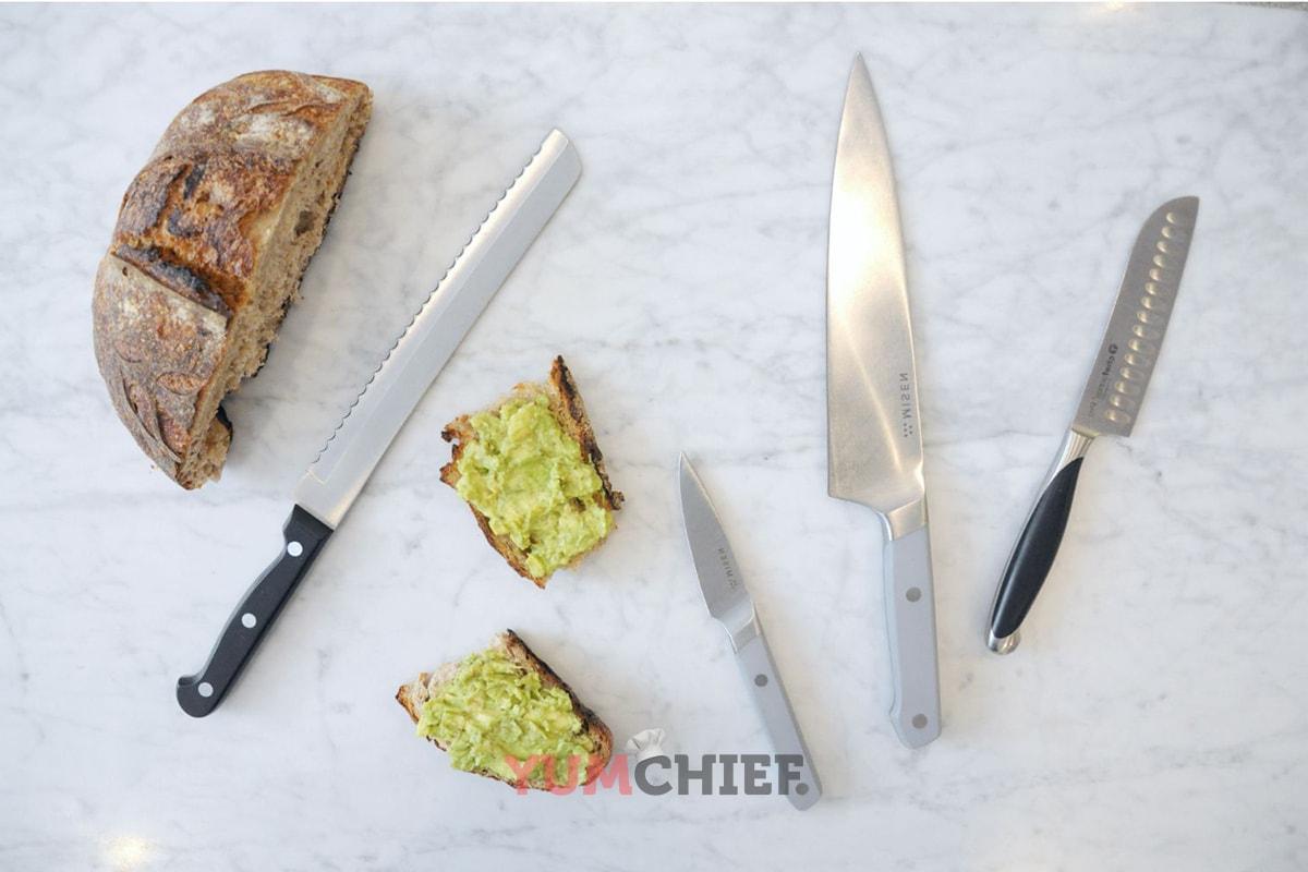 Виды кухонных ножей - фото
