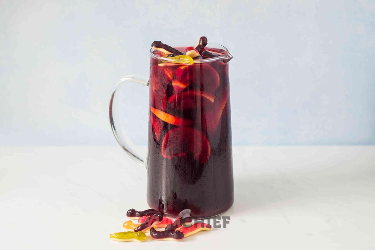 Рецепт кровавой сангрии - фото