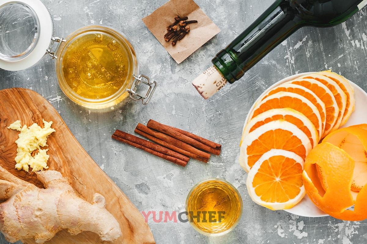 Рецепт приготовления глинтвейна с фото