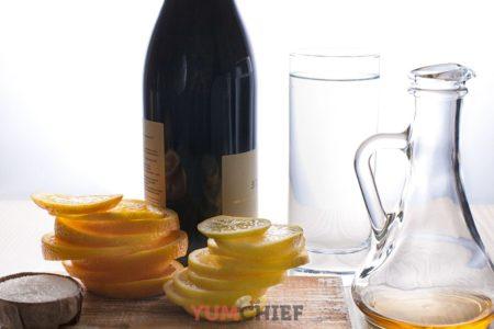 Рецепт приготовления классической сангрии на красном вине