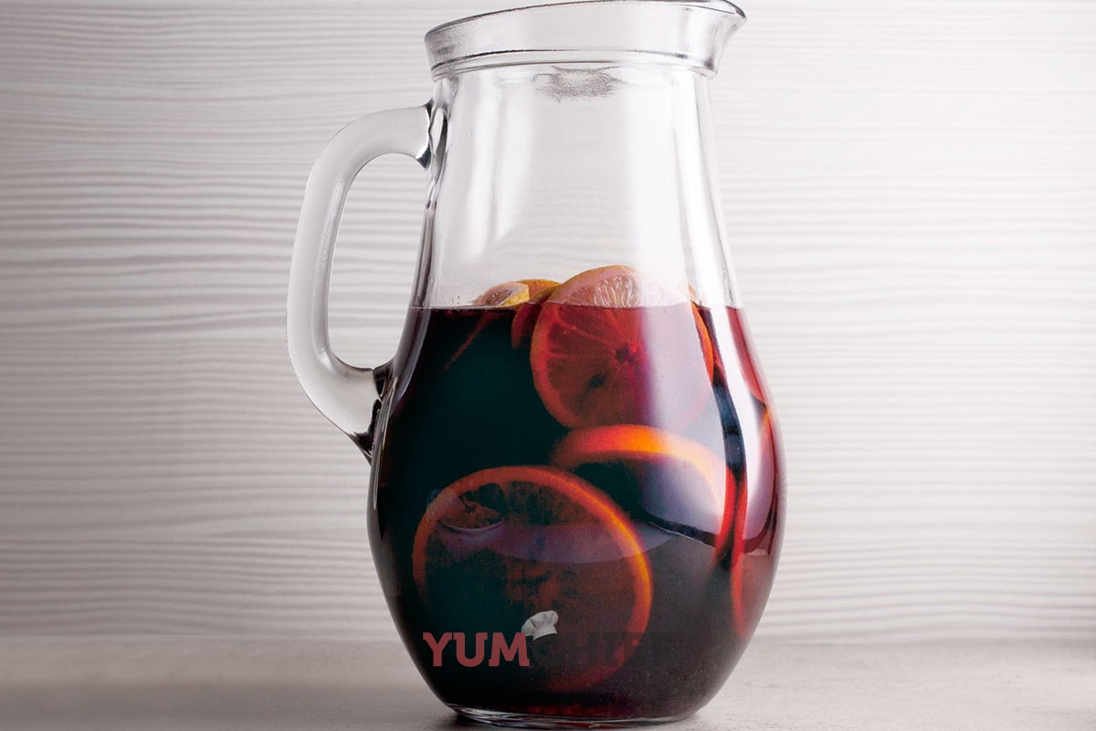 Сангрия с красным вином фото