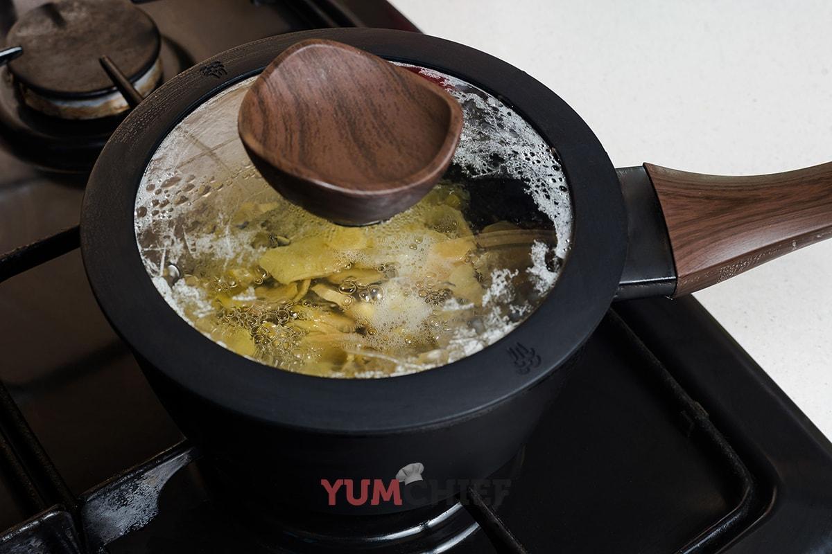 Как сделать сироп из имбиря