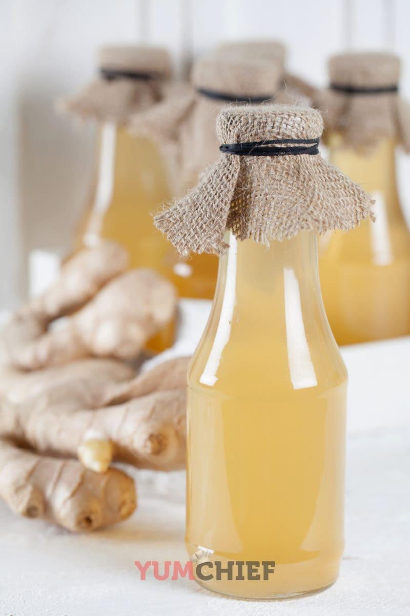 Рецепт имбирного сиропа с фото