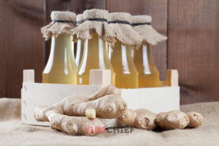 Сироп из имбиря - рецепт с фото