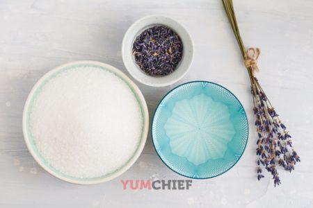 Состав сиропа из лаванды
