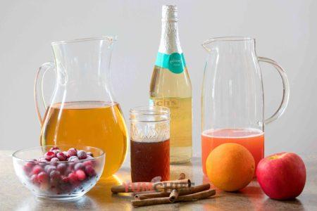 Ингредиенты для приготовления яблочного пунша