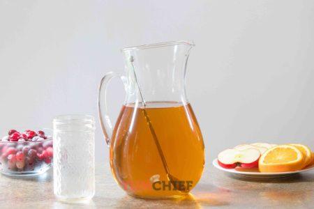 Пунш на основе яблочного сока