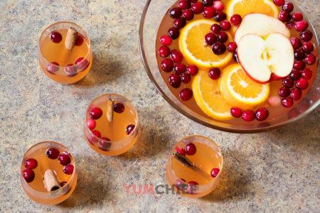 Рецепт яблочного пунша - фото
