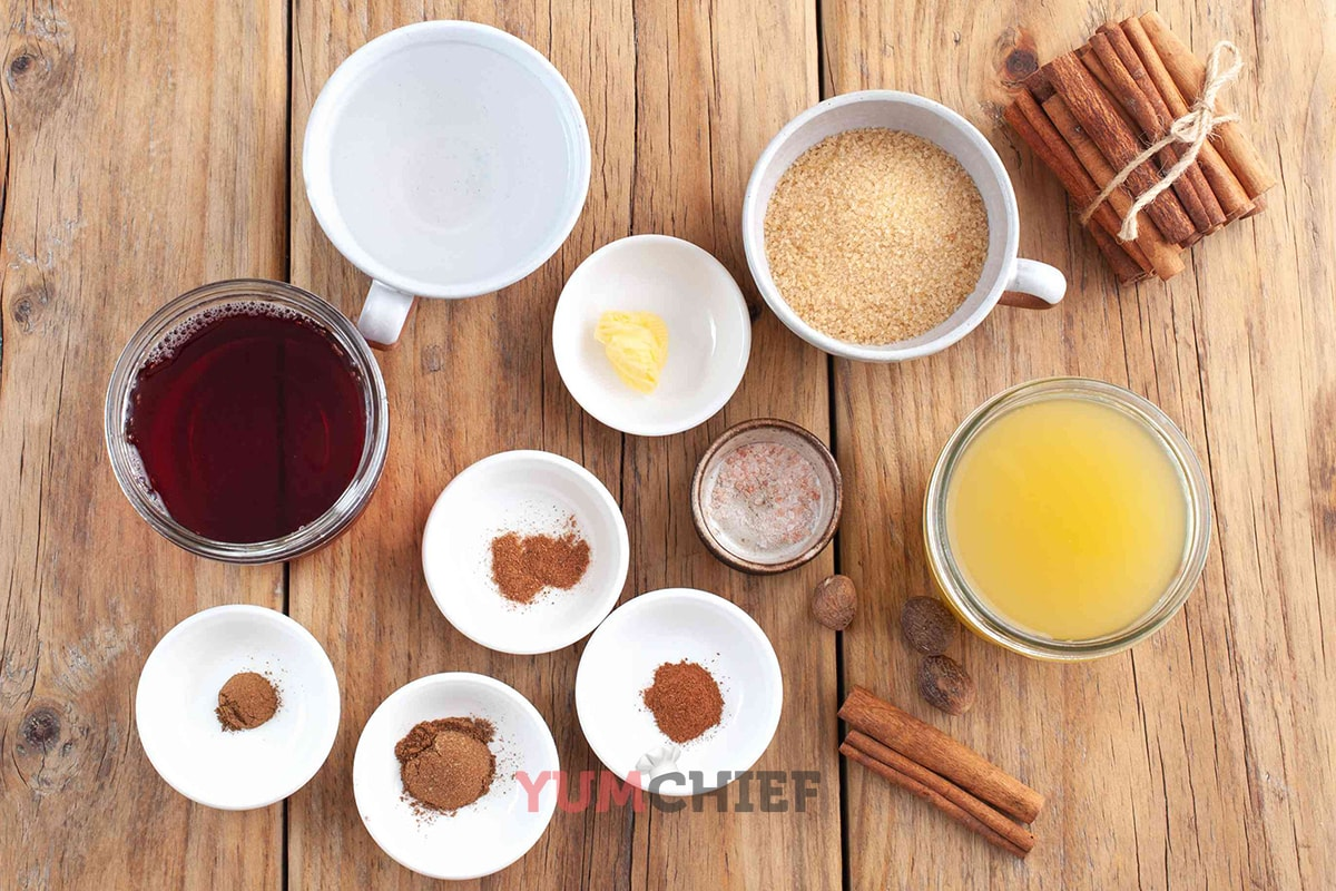 Рецепт безалкогольного пунша