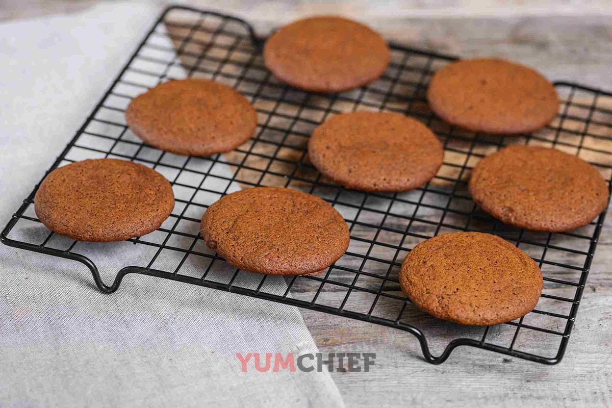 Фото имбирного печенья