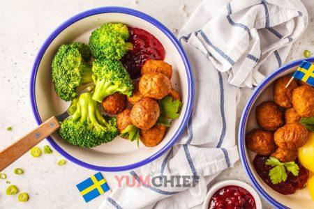 Шведские фрикадельки как в ИКЕА