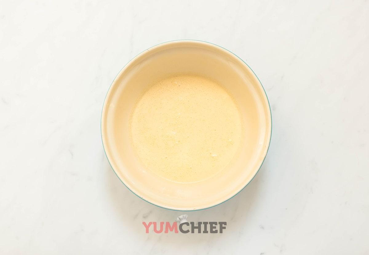 Рецепт блинов с грибами и индейкой