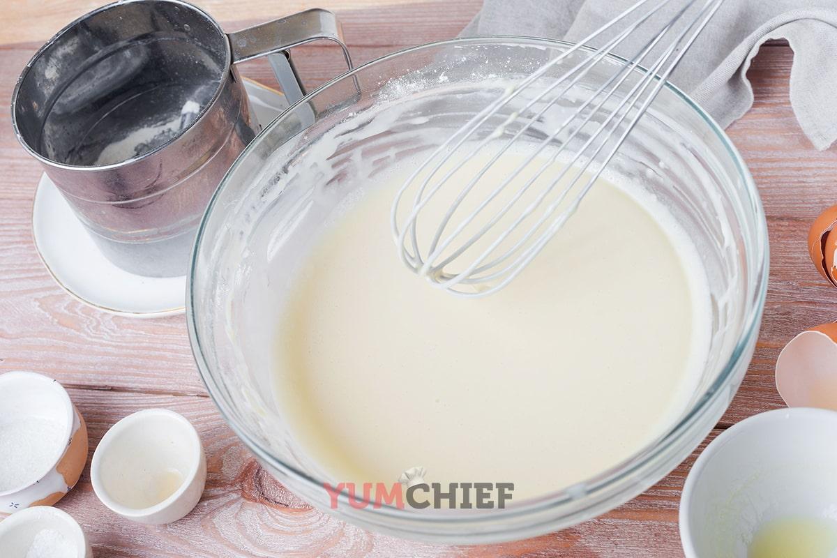 Пошаговый рецепт приготовления блинов