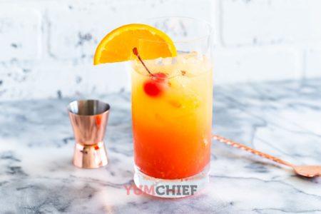 tequila sunrise рецепт коктейля