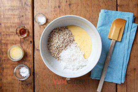 Рецепт приготовления овсяно-кокосовое печенье