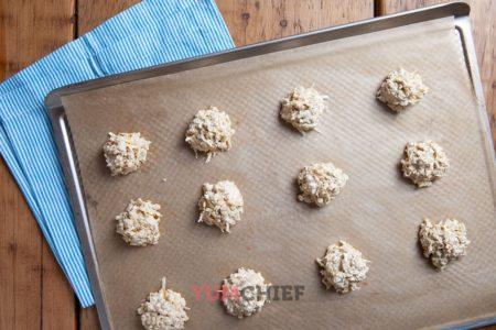 Овсяно-кокосовое печенье рецепт