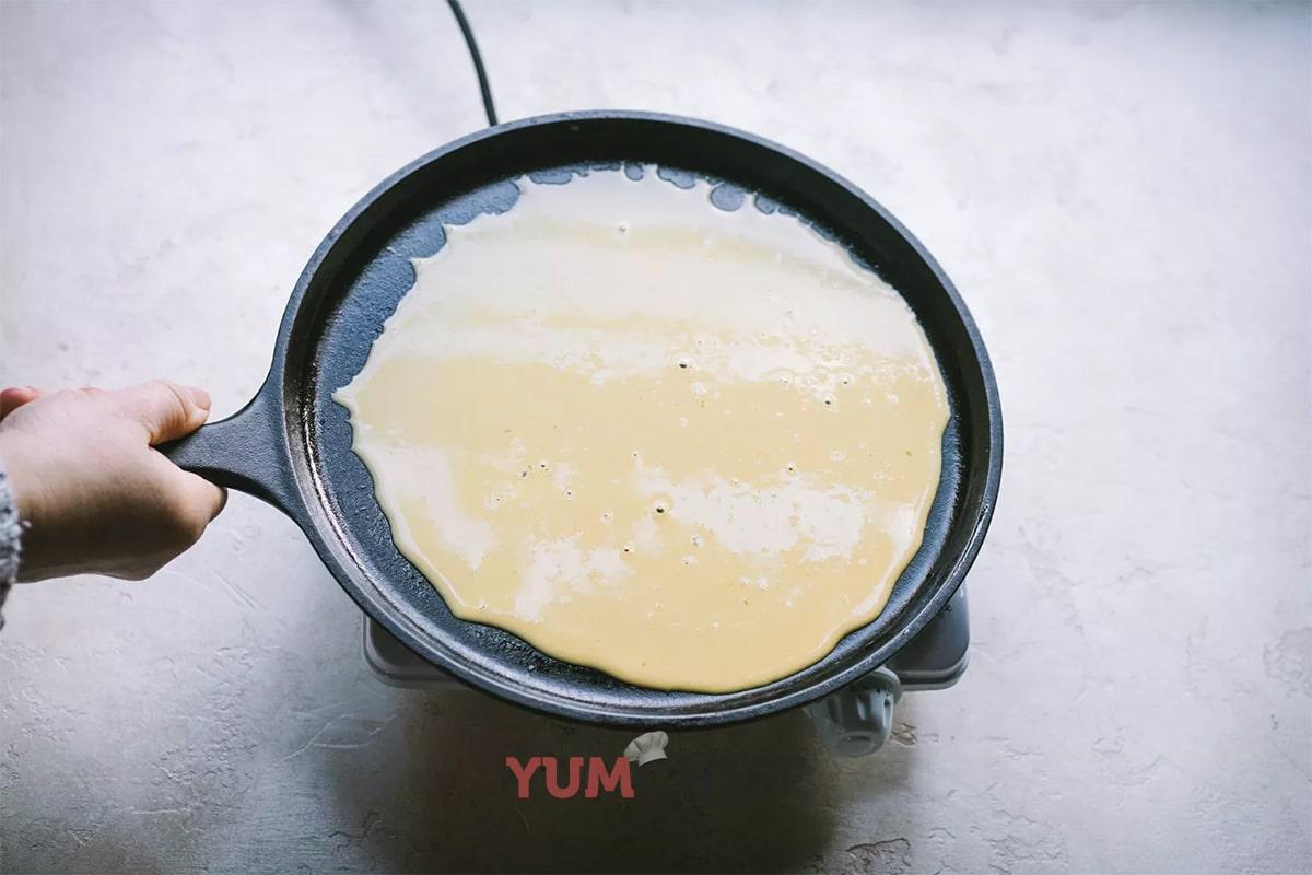 Рецепт безглютеновых блинов