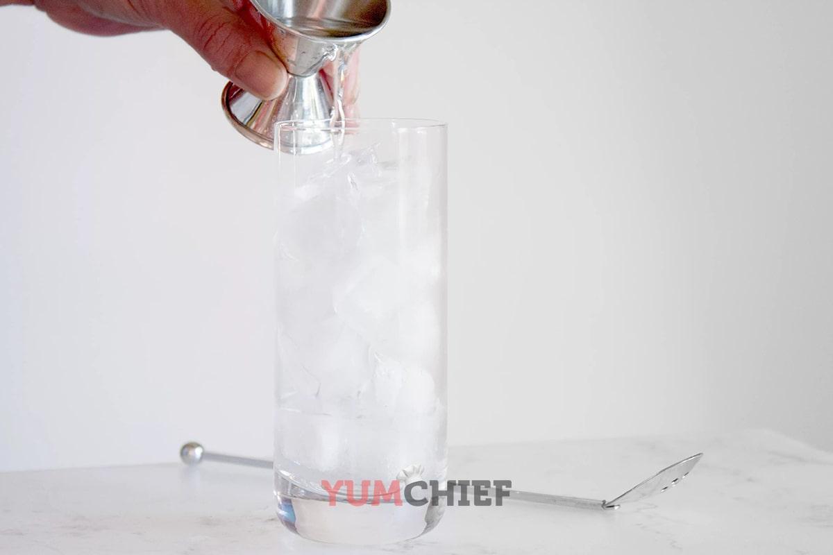 Рецепт приготовления коктейля медуза