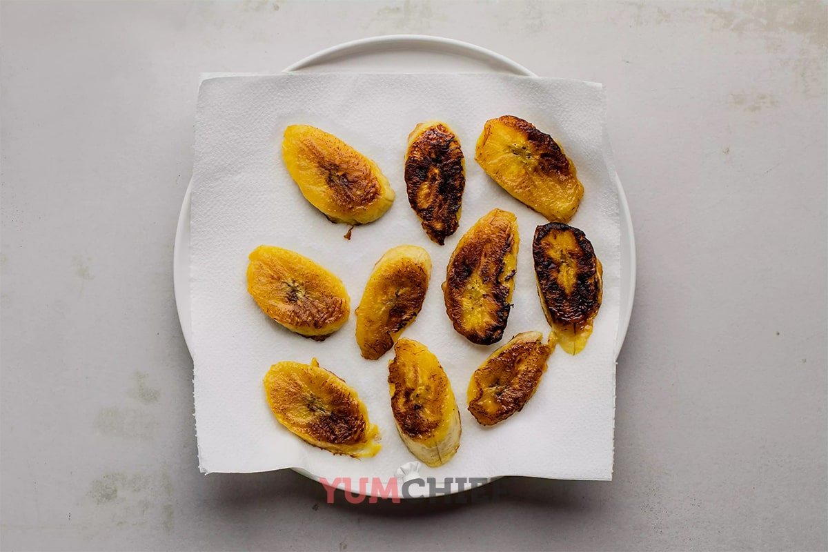 Рецепт жареных бананов