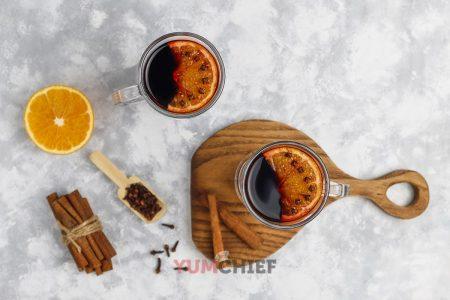 Рецепт глинтвейна с апельсином в домашних условиях