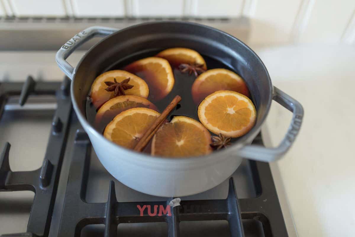 Как варить глинтвейн без вина