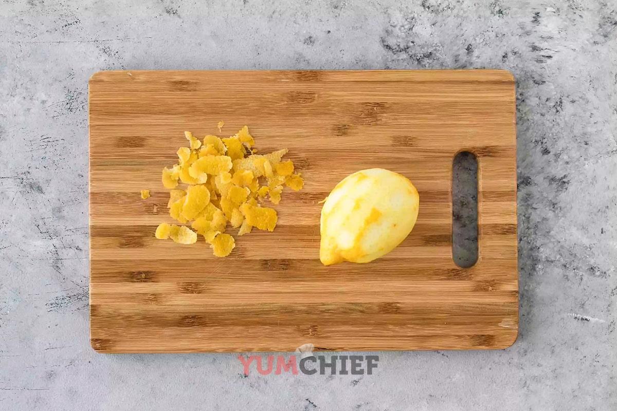 Приготовление лимонного сиропа