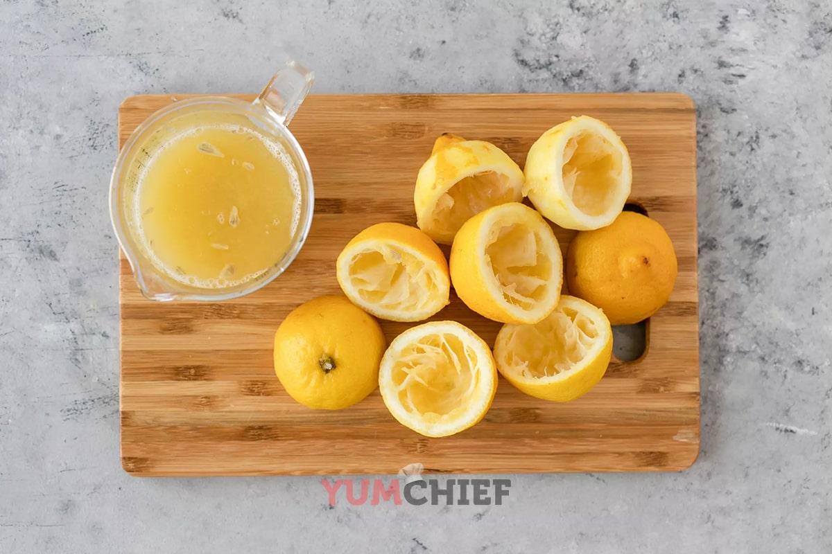 Рецепт приготовления сиропа из лимонов