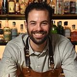 Алкогольный гранатовый коктейль с лаймом и мятой - фото автора рецепта