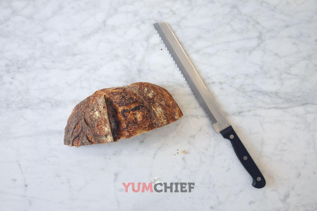 Хлебный нож - фото
